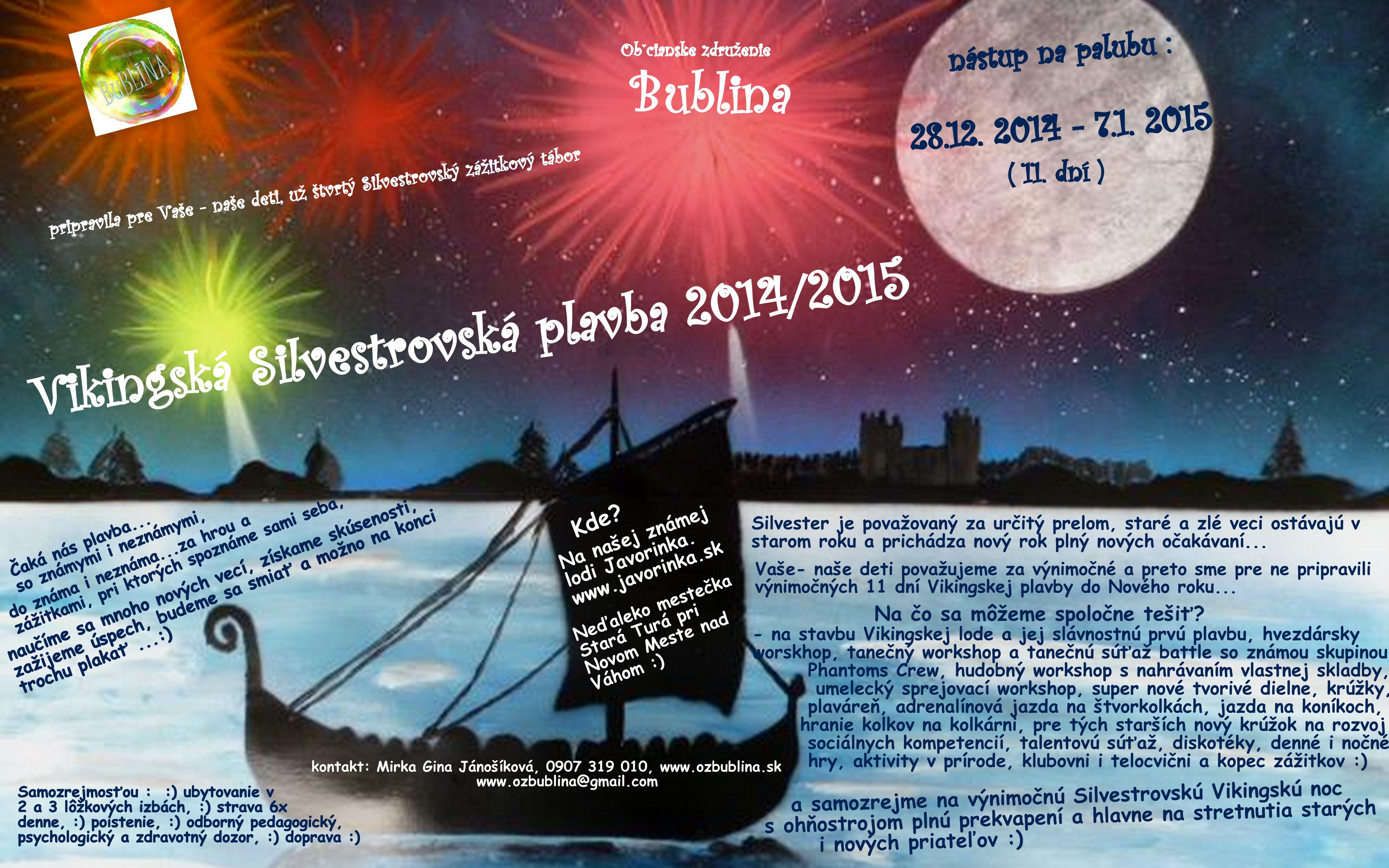 PONUKA Silvester 2014 2015